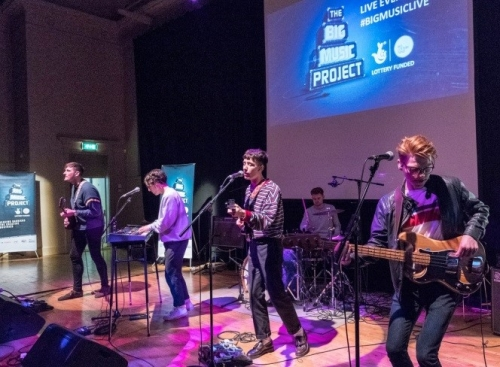 Youth Scotland - Big Music Live Event